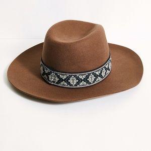 Free People Loren Patten Band Felt Hat